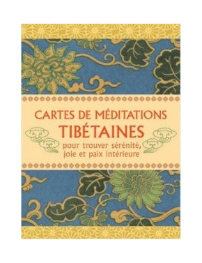 Cartes de méditations Tibétaines