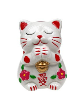 CHAT JAPONAIS Maneki Neko - L'Amour