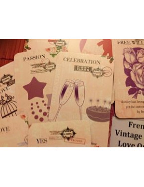FRENCH VINTAGE STAMP LOVE ORACLE