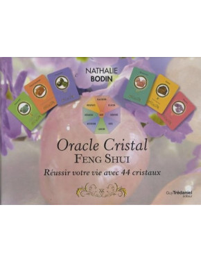 Oracle CRISTAL FENG SHUI Coffret livret cartes